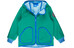 Finkid Tove Shell Zip-In Jacket Kids emerald/french